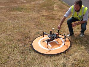 Drone pour vue aérienne